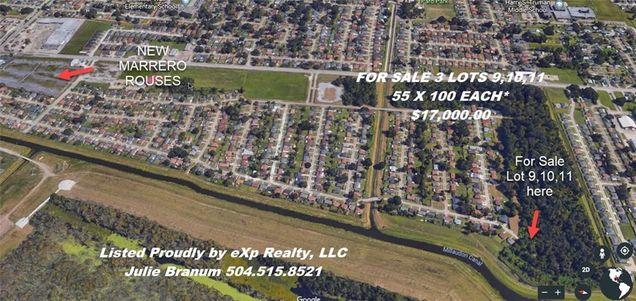 Lot 9 10 11 Sauvage Drive Marrero La 70072 Mls 2188726 Estately