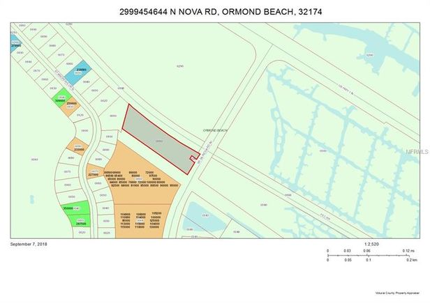 Map Of Ormond Beach Florida.644 N Nova Rd Ormond Beach Fl 32174 Mls V4902944 Estately