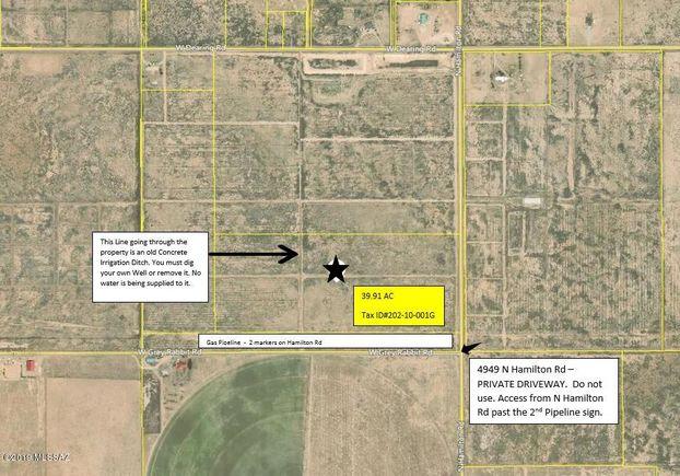 40 AC Hamilton Rd, Willcox, AZ 85643 - MLS# 21902562 | Estately